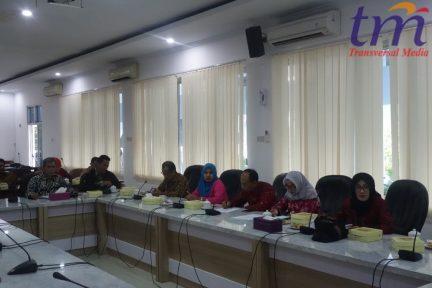 kunjungan kerja di DPRD Pekalongan mengenai permasalahan limbah