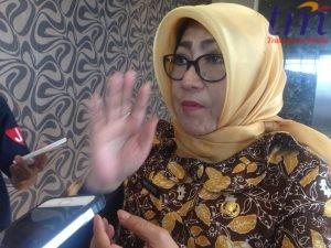 Kepala Bapeko Kota Mojokerto, menyampaikan Musrenbang ke awak media. Rabu (21/3/2018)