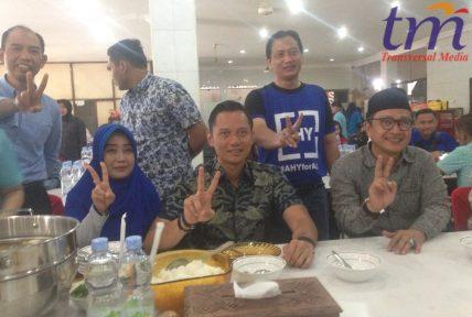 Dukungan AHY terhadap Paslon nomor 2