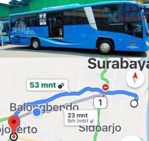 Rencana Jalur Trayek Transportasi umum Bus Damri