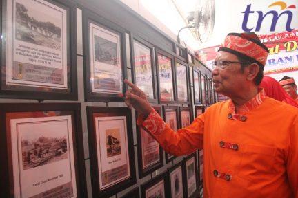Mas'ud Yunus menghadiri Expo di lapangan Surodinawan. Jumat (13/4/2018)