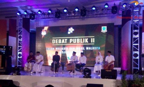 debat II pilwali kota Mojokerto