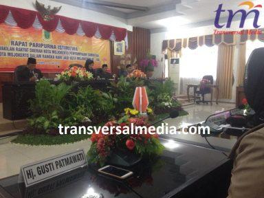 Rapat Paripuna Istimewa HUT 100 Kota Mojokerto. Kamis (21/6/2018)
