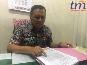 Kepala BKD, Endri Agus saat dikonfirmasi masalah rekrutmen CPNS