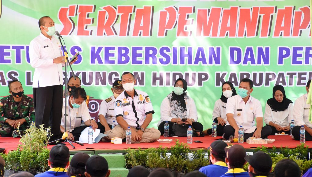 Pembinaan dan Pemantapan Petugas Kebersihan dan Pertamanan DLH Kabupaten Mojokerto