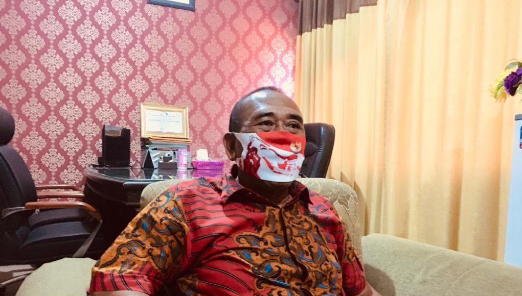 Ketua DPRD kota Mojokerto, Sunarto teken agenda penjadwalan atau Badan Musyawarah (Banmus)